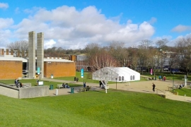 Campus de la Universidad de Sussex en Brighton (Reino Unido)