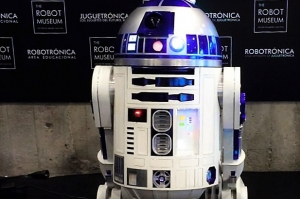 R2D2 en la Global Robot Expo / Foto: Eline Wubbolts